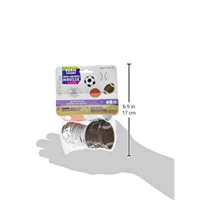 Darice Foamies Play Ball Sports Stickers (1028-59): Arts, Crafts & Sewing
