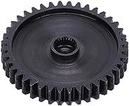 Roda dentada de placa, placa de corrente de rolo preto, dente 40 para robô industrial industrial