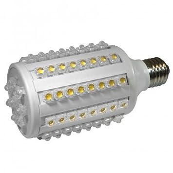 13 W Super flux bombilla LED luz blanca cálida E27 1000 lumens: Amazon.es: Electrónica