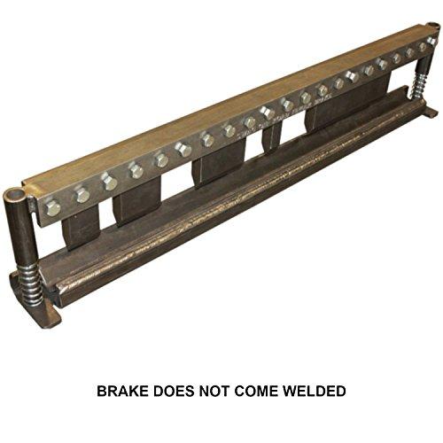 SWAG Off Road 50'' Finger Press Brake DIY Builder Kit with Adjustable Back Stop. by SWAG Offroad