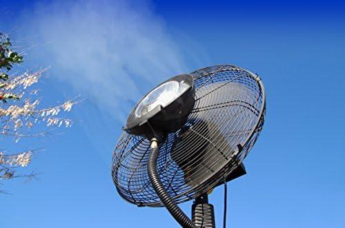 O\' Fresh 071 - Ventilatore nebulizzatore ad alta prestazione, 180 cm