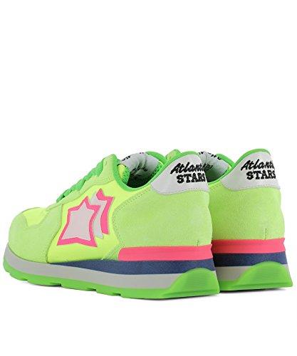 Verde VEGAUVS87FF Atlantic Pelle Stars Sneakers Donna AqXq7zxvBw