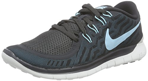NikeFree 5.0 - Zapatillas de Running Mujer Gris (Anthracite / Copa Black Bl Lgn)