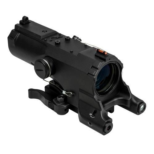 NcSTAR 4x34 ECO Tactical Scope MOD 2 w/Green Laser & Nav Lights (Nav Light)