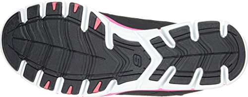 buy cheap wide range of sale limited edition Skechers Sport Women's No Limits Slip-On Mule Sneaker Black/White/Pink buy cheap cheapest price eastbay for sale SkURs3VaW