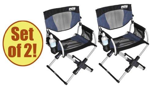Set Of 2   PICO ARM CHAIR Telescoping Directoru0027s Chair