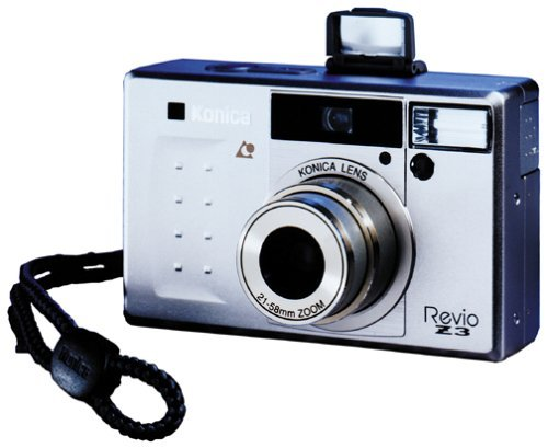 Konica Revio Z3 Gold APS Camera w/ Remote Control by Konica-Minolta