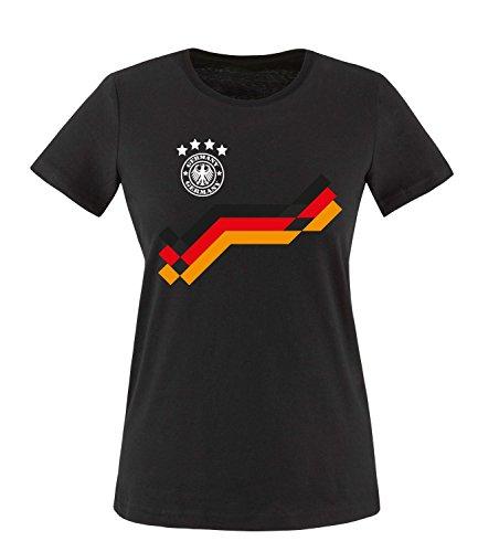 Luckja EM 2016 Deutschland Trikot Motiv 19 Damen T-Shirt