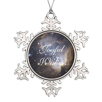 Pattebom NGC 602 Bright Stars NASA Pewter Snowflake Christmas Ornaments  2018 Christmas Decorations Novelty Xmas Gifts - Amazon.com: Pattebom NGC 602 Bright Stars NASA Pewter Snowflake