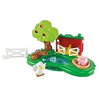 Play-Pond de Fisher-Price Little People y juego de cerdito