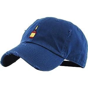 d069edddbd1 KBETHOS Henny Bottle Dad Hat Baseball Cap Polo Style Unconstructed ...