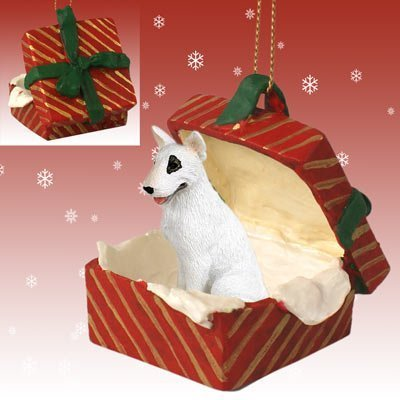 Conversation Concepts Bull Terrier Gift Box Red