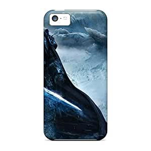 DateniasNecapeer Design High Quality World Of Warcraft Wrath Of The Lich King Covers Cases With Excellent Style For Iphone 5c