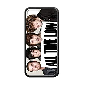 5C Phone Case, All Time Low Band Personalized iPhone 5C Rubber Gel Silicone Case Cover