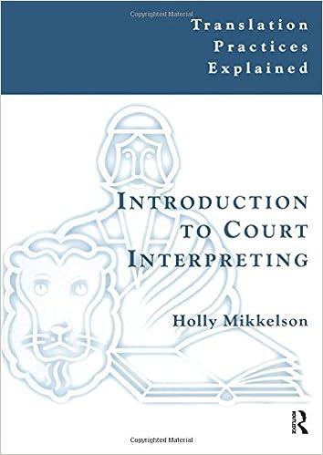 Amazon.com: Introduction to Court Interpreting (Translation ...