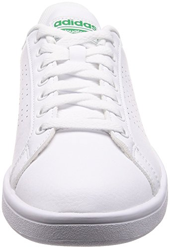 Sneaker Uomo footwear Adidas Cloudfoam green Bianco White Advantage TZwExR