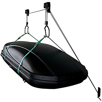 Amazon Com Storeyourboard Cargo Box Ceiling Storage Hoist