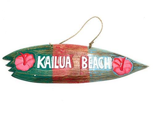 (Tikimaster Kailua Beach Surf Sign 20