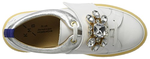 Sneakers Blanc KMB Femme Basses White Gensy A4U5UqSnw