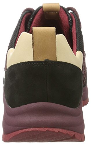 Tri Black Clarks Schwarz Trail Interest Damen Sneaker Fw4Uq51