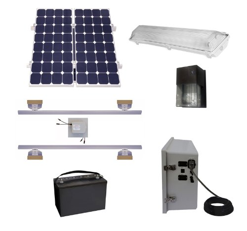 Shed Solar Lighting Kits - 7