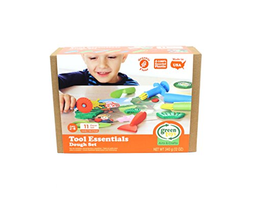 Green Toys Tool Essentials Dough Set Activity JungleDealsBlog.com