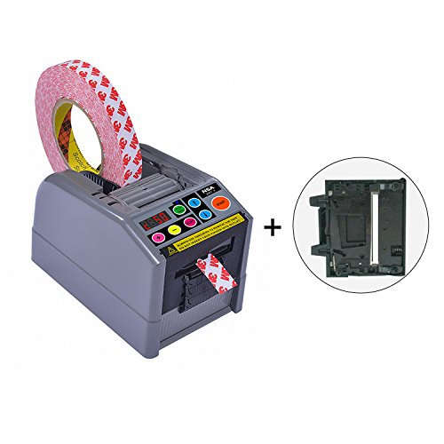 Electronic Tape Dispenser ZCUT-9 Up to 2.36'' Width Tape Fits For 2 Roll Tapes at Same Time by NSA