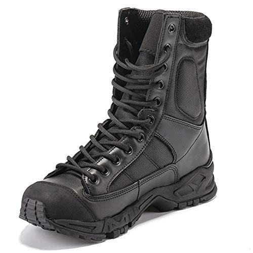 Zapatos Desierto Masculino Libre Del Verano Transpirables Aerotransportadas Militares Al Black Especiales Escalada Qikai De Aire Combate Botas FqWpzwT1