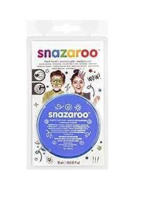 Snazaroo Face Paint 18ml-Sky Blue (maquillaje/ pintura de cara)