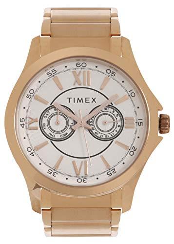 Timex Analog Silver Dial Men #39;s Watch TW000X126
