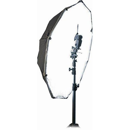 Photek HSD-50K Umbrella, Hot Shoe Diffuser, Shoe Mount Adapter & Velcro Kit