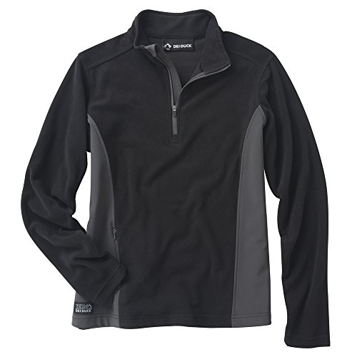 - DRI Duck Women's 9346 Pulse Quarter Zip Jacket, Black, Small