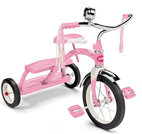 Radio Flyer Classic Pink Dual Deck Tricycle (Best Trike For 2 Year Old)