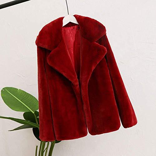 Signore Pullover Caldo Invernale Donne Parka Cappotto Felpe Casuale Classico Solido Capispalla Winered Cardigan O8n0mNwv