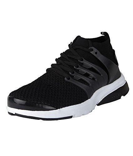 d579b3bdcd3d1d MAX AIR Men s Black Running Shoes - 6 M Uk  Buy Online at Low Prices ...