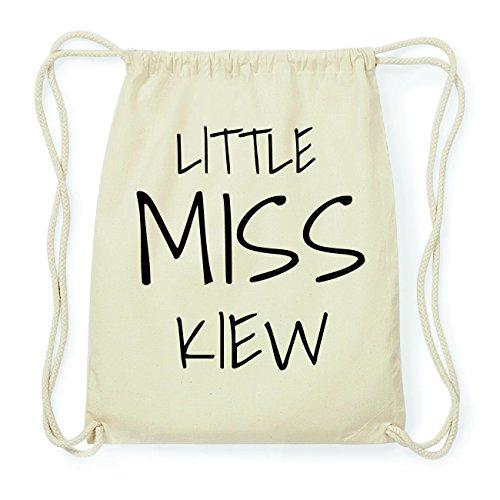JOllify KIEW Hipster Turnbeutel Tasche Rucksack aus Baumwolle - Farbe: natur Design: Little Miss vPMIZpd