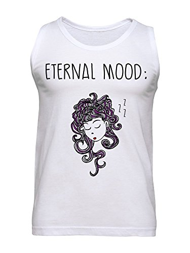 Eternal Mood Beautiful Girl With Purple Hair Men's Tank Top