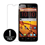 MPERO ZTE Boost Max Tempered Glass Screen Protector Cover, Clear