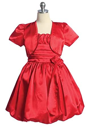 size 8 red christmas holiday party dress for girls size 2 4 6 8