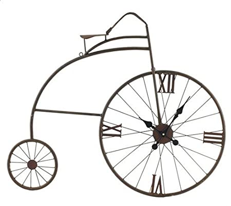 Reloj De Pared Bicicleta Vintage 72 cm: Amazon.es: Hogar