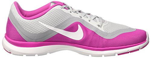 pure Fire Grey Femme 831217 Platinum Gris Nike White 005 Fitness Pink De Wolf Chaussures w6Fx40Aq