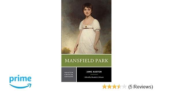 Amazon.com: Mansfield Park (Norton Critical Editions ...