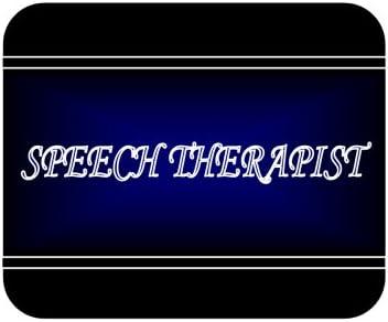 Speech therapist Mouse Pad Job Occupation