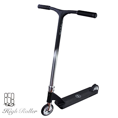 Ride 858 High Roller Complete Scooter (Matte Black/ Silver)