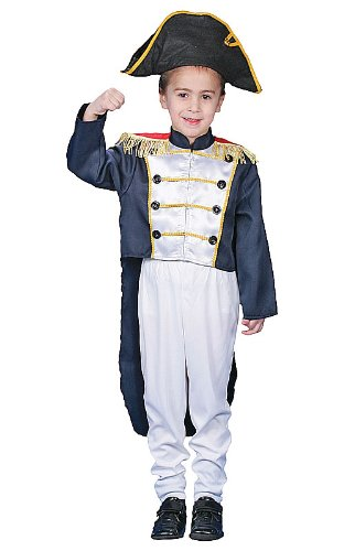 Child Colonial Soldier Costume (Colonial General Child Costume - Medium (8-10))