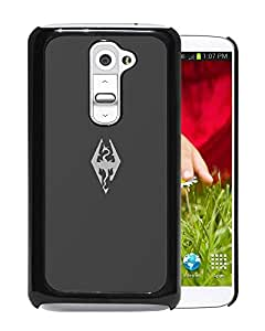G2 case,The Elder Scrolls Sign Dragon Background LG G2 cover