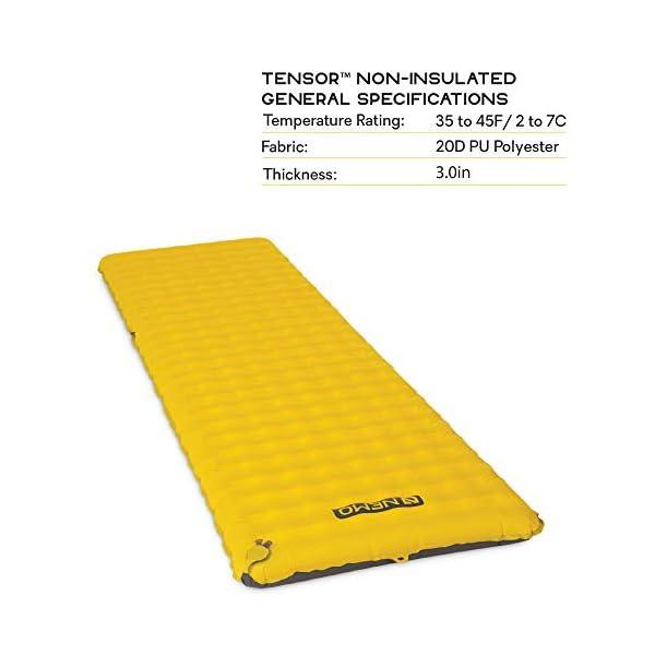 Nemo Tensor Ultralight Sleeping Pad, Regular Wide 4