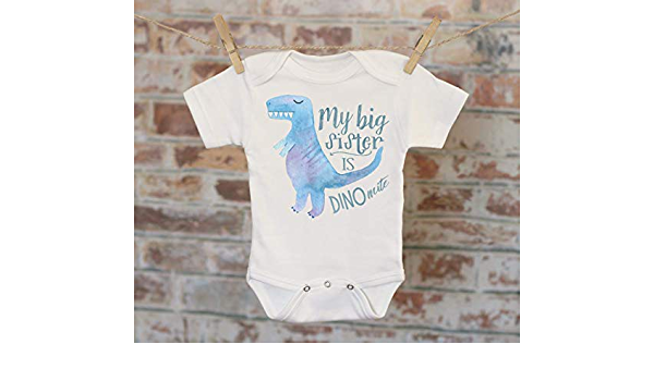 Funny Baby Infant Bodysuit New Baby Dynamite Pun Dinosaur Funny Dinomite Puns Infant Romper Dinos Cool Sunglasses Baby Shower Dino-Mite
