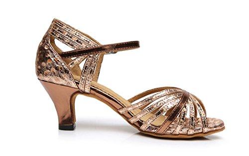TDA - Zapatos con tacón mujer 6cm Heel Brown