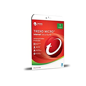 Trend Micro Internet Security V10 – 1 PC, 1 Year (CD) (slim Pack)